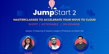 JumpStart Season 2: Masterclasses by India's Top Sales & Operations Leaders tickets