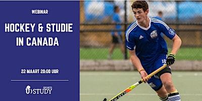 Gratis webinar Hockey en Studie in de Canada