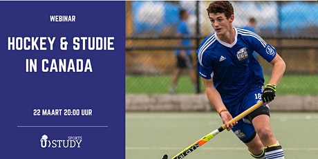 Gratis webinar Hockey en Studie in de Canada tickets