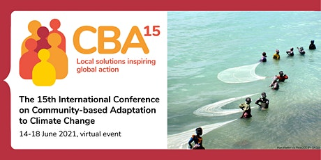 CBA15: Local solutions inspiring global action tickets