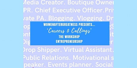 Careers and Callings: Entrepreneurship tickets