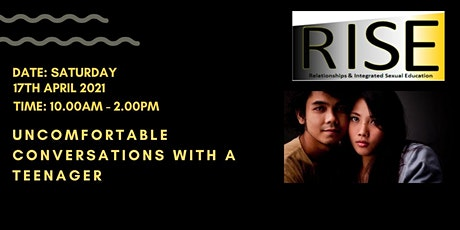 R.I.S.E - Uncomfortable Conversations with a Teenager tickets