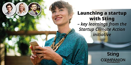 Key learnings from Startup Climate Action initiative by Sting tickets