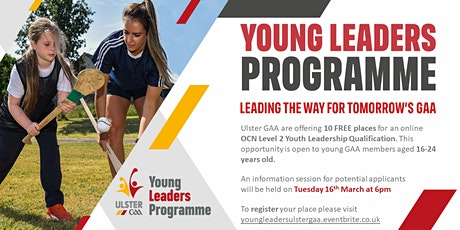 Young Leaders Programme - OCN Level 2 Youth Leadership Information Session tickets