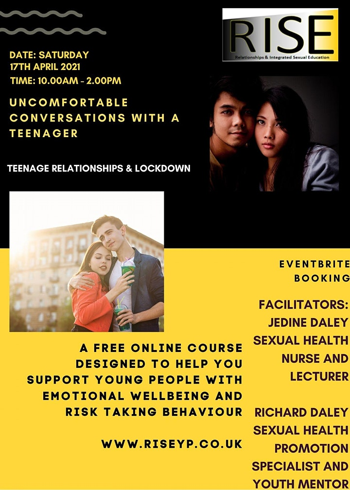 R.I.S.E - Uncomfortable Conversations with a Teenager image
