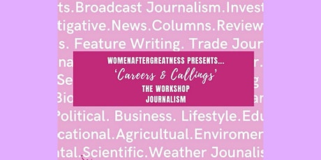 Careers and Callings: Journalism tickets