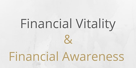 Financial Vitality and Financial Awareness in Relationships tickets