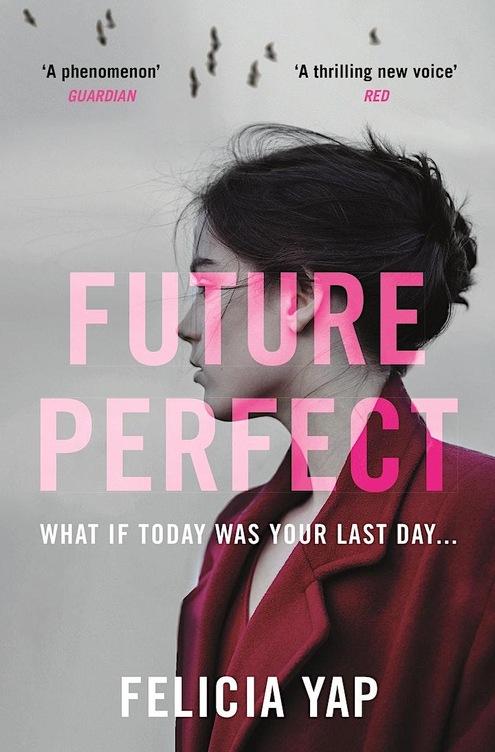 FUTURE PERFECT book launch image