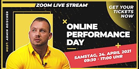 ONLINE PERFORMANCE DAY mit Armin Reischer Tickets