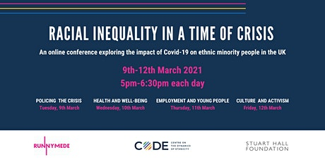 Racial Inequality in a Time of Crisis - an online conference tickets