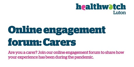 Carers Engagement Forum tickets