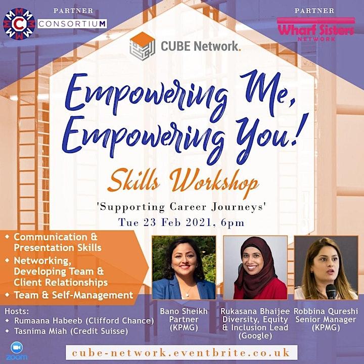 Empowering Me, Empowering You: Career Development Skills Workshop image