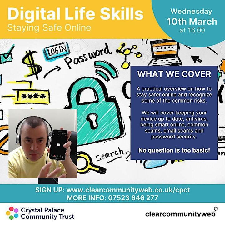 Digital Life Skills: Staying Safe Online image