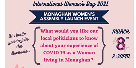 Monaghan Women's Assembly launch tickets