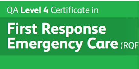 QA First Response Emergency Care Level 4 tickets