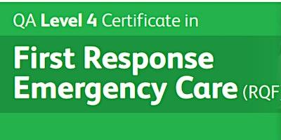 QA+First+Response+Emergency+Care+Level+4