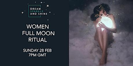 Full Moon Women Circle Ceremony tickets