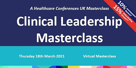 Clinical Leadership Masterclass tickets