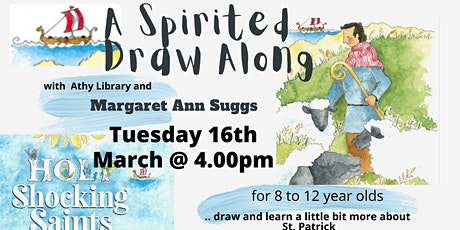 Athy Library Presents: A Spirited Draw Along with Margaret Suggs tickets