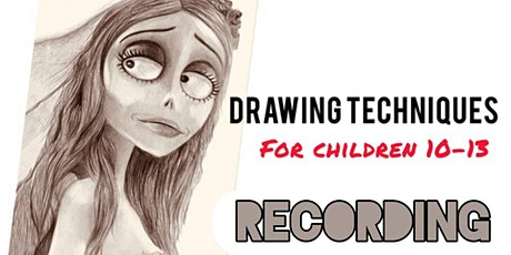 Drawing Techniques for Children 10-13 - Emily the Corpse Bride (Recording) tickets