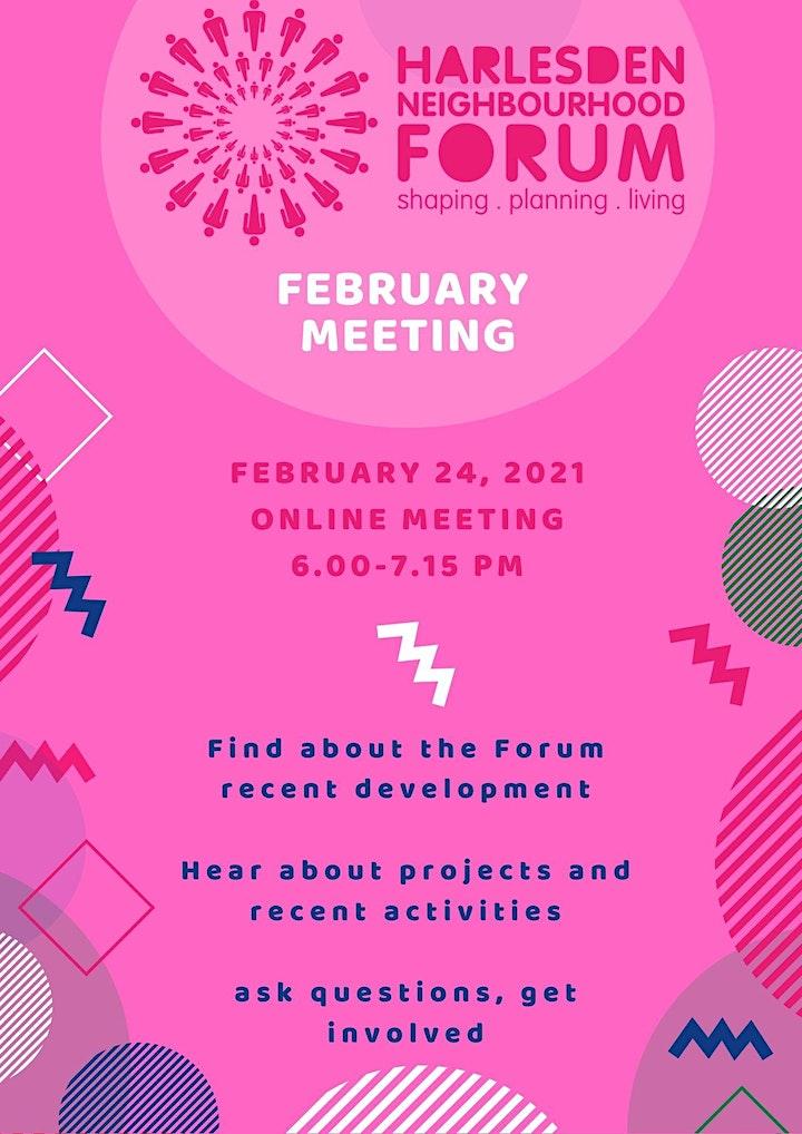 Harlesden Neighbourhood Forum -  February Meeting image