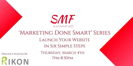 How to launch your website in six simple steps tickets