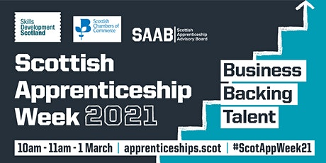 Business Backing Talent Event – Scottish Apprenticeship Week 2021 tickets