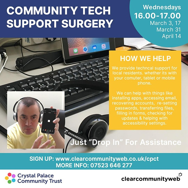 Community Tech Support Surgery image