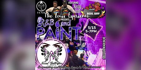 R&B and Paint™️ w/A Purpose: The Social Butterflies Foundation tickets