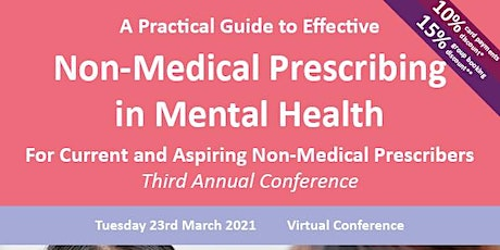 A Practical Guide to Effective Non-Medical Prescribing in Mental Health tickets