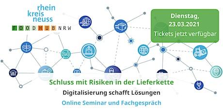 Risiken in der Lieferkette – Digitalisierung schafft Lösungen Tickets