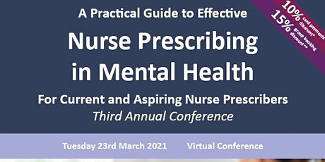 A Practical Guide to Effective Nurse Prescribing in Mental Health tickets
