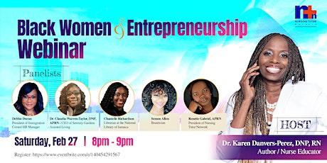 Black Women & Entrepreneurship tickets