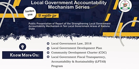 Local Government Accountability Mechanism tickets