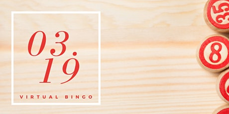 Virtual BINGO Giveaway tickets
