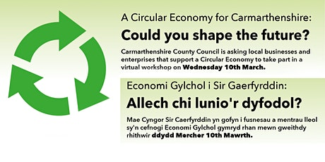 Circular Economy for Carmarthenshire tickets