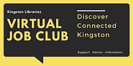 Connected Kingston - Kingston Libraries Virtual Job Club tickets