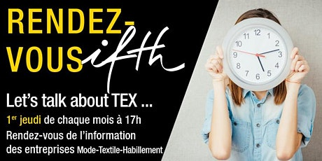 Rendez-vous IFTH/  Let's Talk about  Tex - 4 Mars 2021 billets