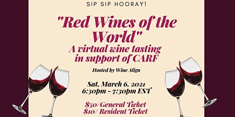 Red Wines of the World Virtual Tasting tickets