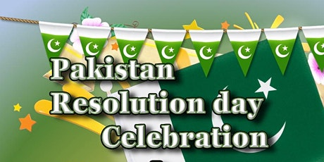 Pakistan Resolution Day Celebrations & Dinner tickets