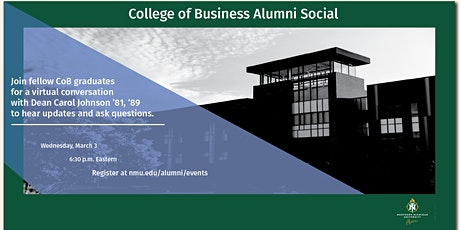 College of Business Alumni Social tickets