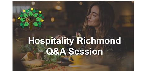 Hospitality Q&A session 3 tickets