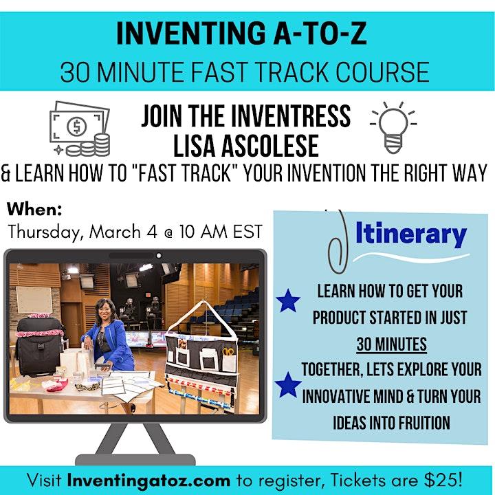 Inventing FAST TRACK 30 Minute Workshop image