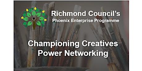 Creative Richmond -  Power networking -  March tickets