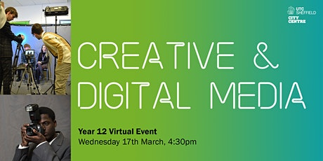 UTC Sheffield City Centre: Creative & Digital Media Virtual Event tickets