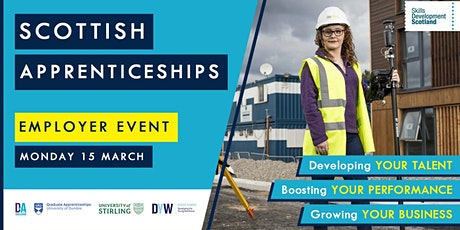 Scottish Apprenticeships Employer Event - Dundee & Angus tickets