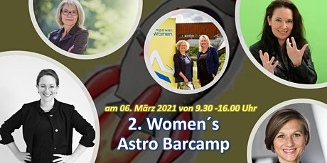 Women´s Astro Barcamp Tickets