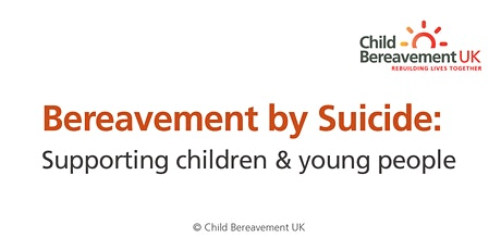Bereavement by Suicide: Supporting Children & Young People (3 hour webinar) tickets