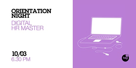 Orientation Night | Digital HR Master biglietti