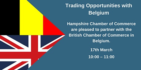 Trading Opportunities with Belgium tickets